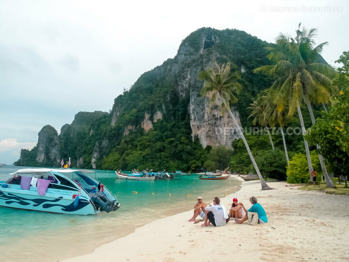 Phi Phi Don beach