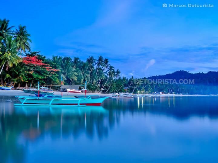 Port Barton Beach, San Vicente, Palawan