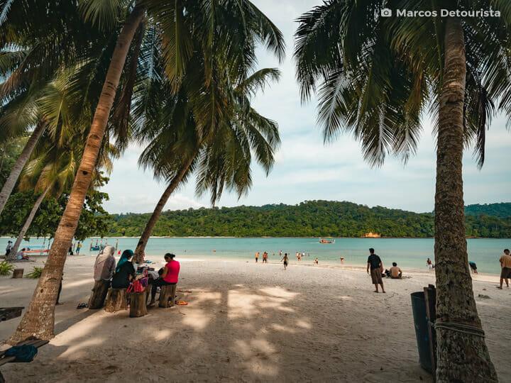 Pulau Beras Basah (Wet Rice Island) in Langkawi, Malaysia
