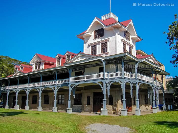 Siliman University in Dumaguete City, Negros Oriental, Philippin