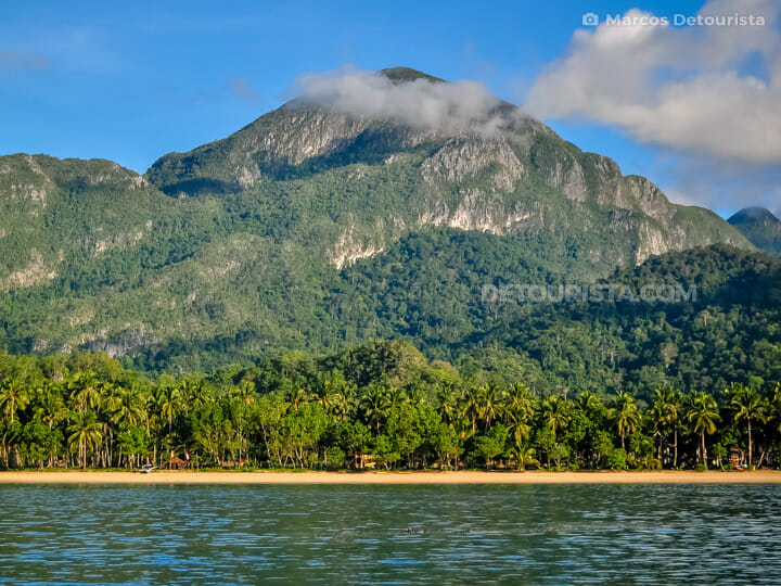 St. Paul Mountain Range at Puerto Princesa Underground River Nat