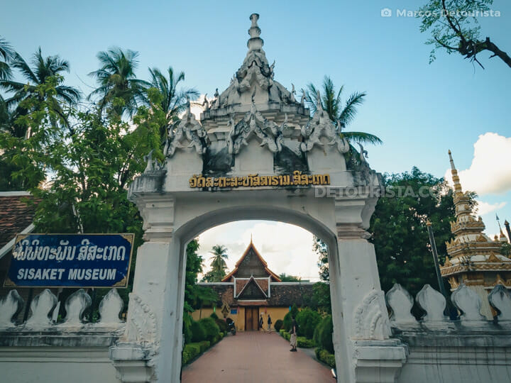 Wat Si Saket (Temple) Museum, Vientiane