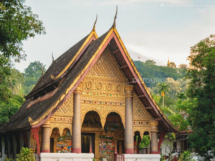 Wat Xieng Mouane (temple) in Luang Prabang, Laos