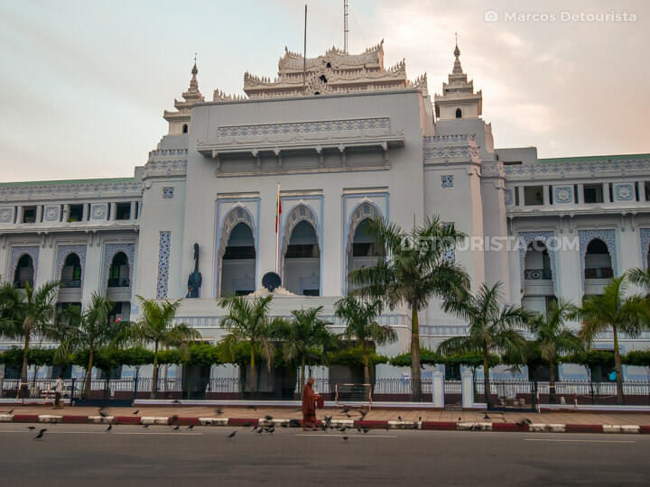 Yangon City Hall, Myanmar