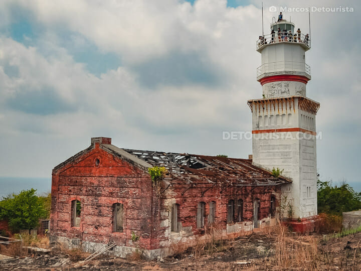 Capones Lighthouse in Zambales, Philippines