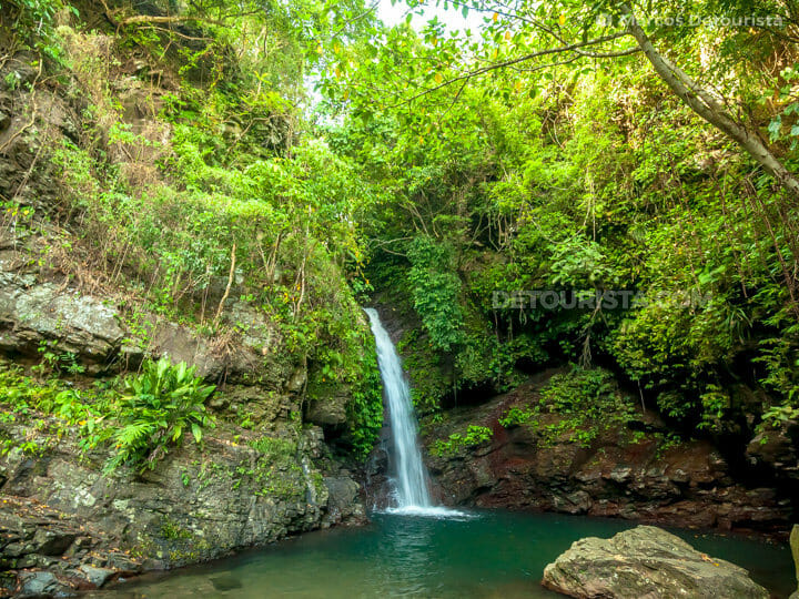 Casabangan Falls in Caibiran, Biliran, Philippines