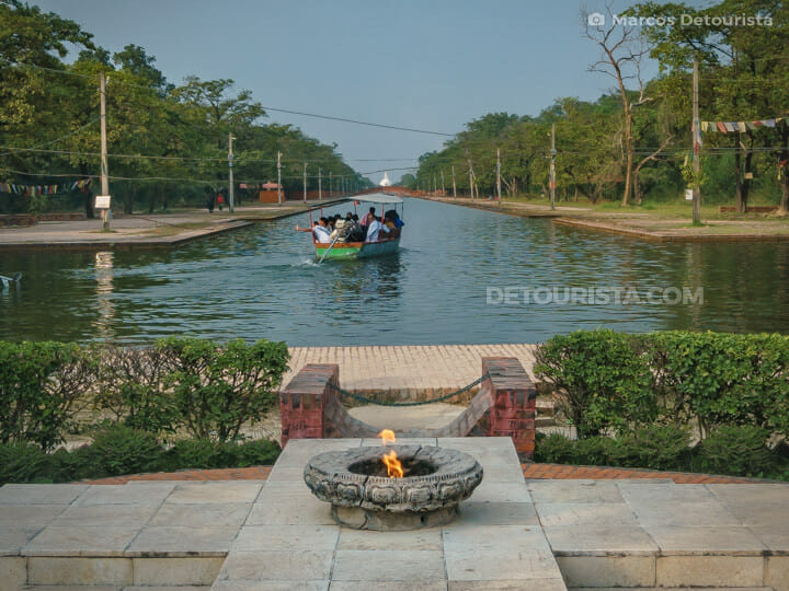 Eternal Flame of Lumbini