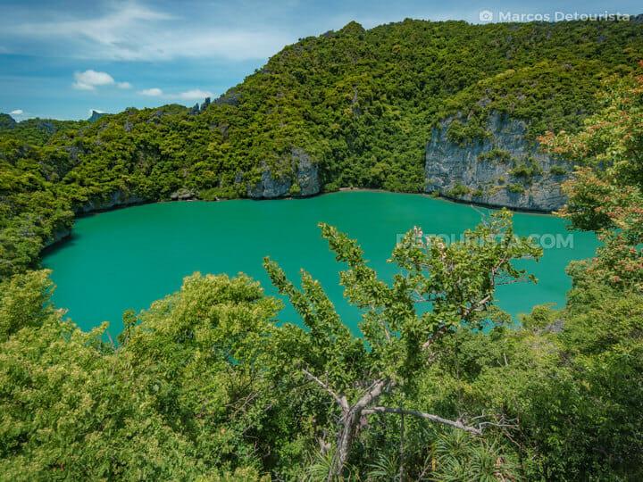 Green Lagoon (Talay Nai), Mae Koh Island, Mu Ko Ang Thong Nation