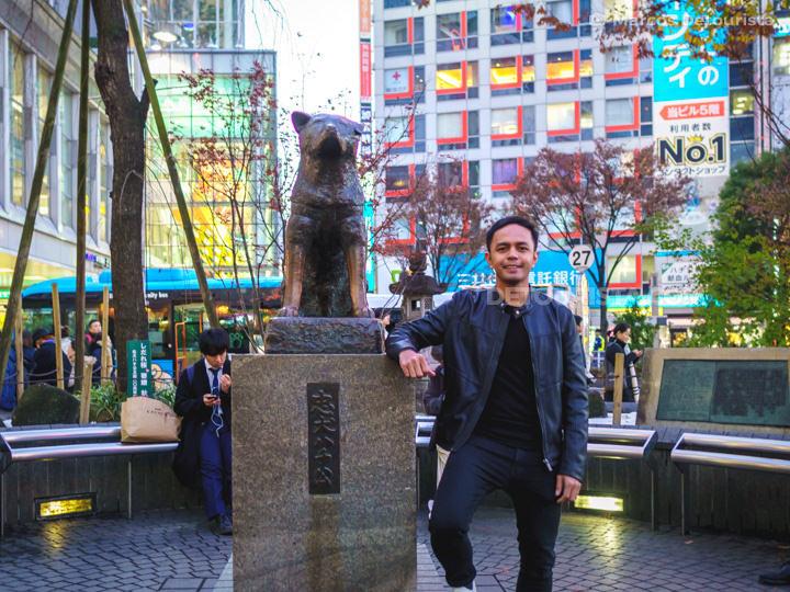 Hachiko Memorial Statue, Tokyo