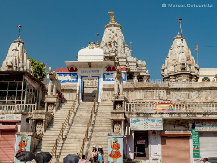 Jagdish Temple in Udaipur, Rajasthan, India