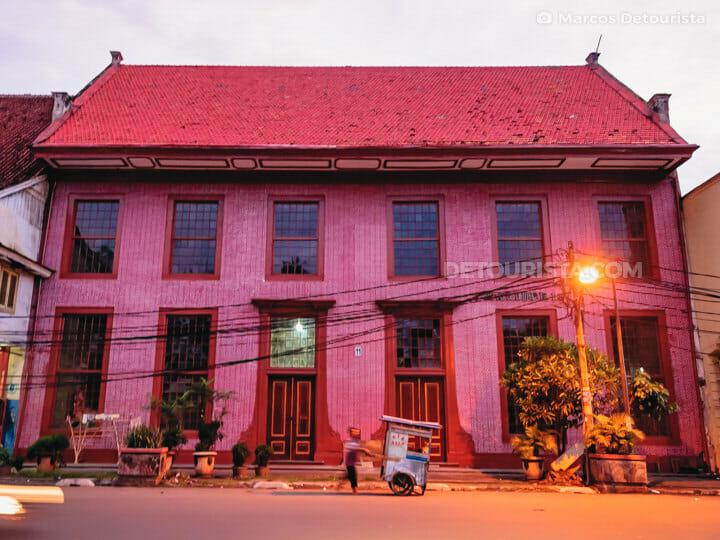 Toko Merah (Dutch-colonial house) in Old Batavia (Kota Tua), Jakarta, Indonesia