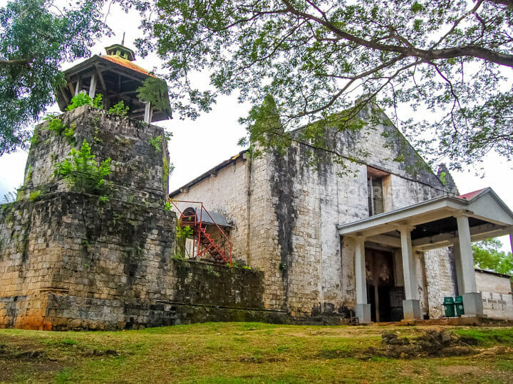 Maria Church in Siquijor, Philippines