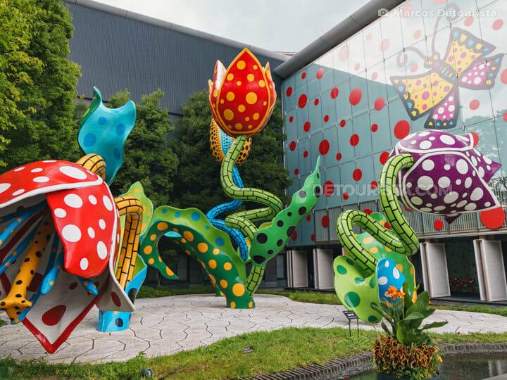 Matsumoto City Art Museum in Matsumoto, Nagano, Japan