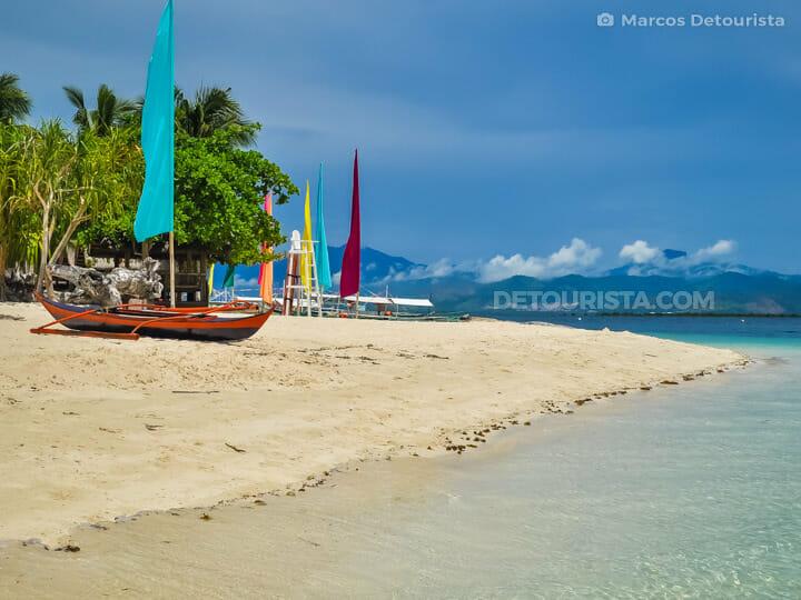 Pandan  Island in Honda Bay, Puerto Princesa