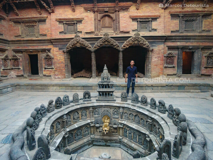 Patan Durbar Square in Kathmandu Valley, Nepal