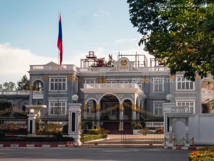 Presidential Palace, Vientiane