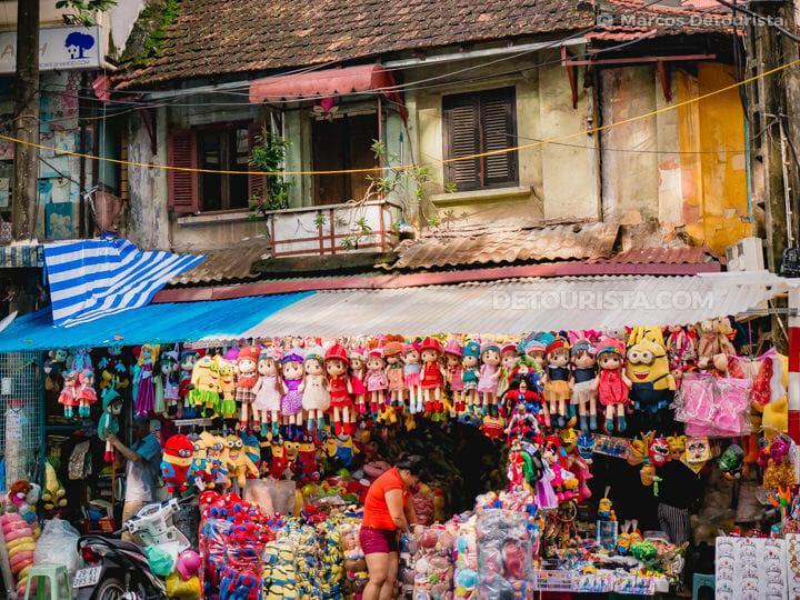 Toy store, in Old Quarter, Hanoi, Vietnam