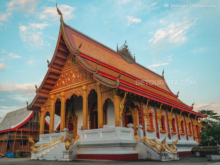 Vat Nong Sikhounmuang  (temple) in Luang Prabang, Laos