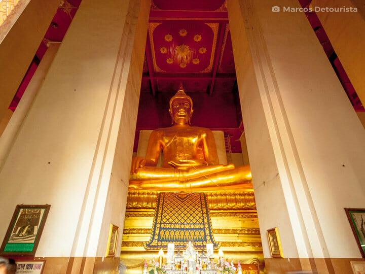 Wihan Phra Mongkhon Bophit in Ayutthaya, Thailand