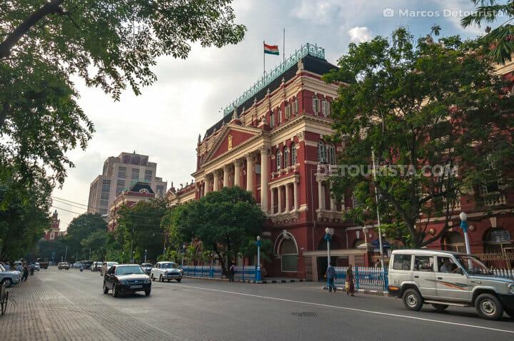 Writer's Building, at BBD Bagh, in Kolkata, India