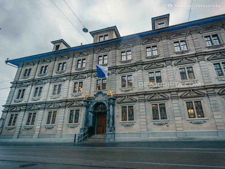 Zurich Town Hall (Rathaus) in Zurich, Switzerland