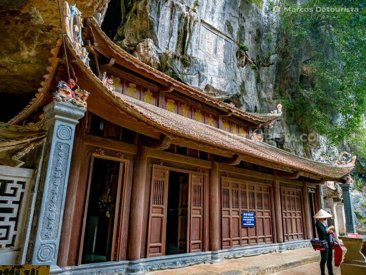 Bich Dong Pagoda, Tam Coc in Ninh Binh, Vietnam