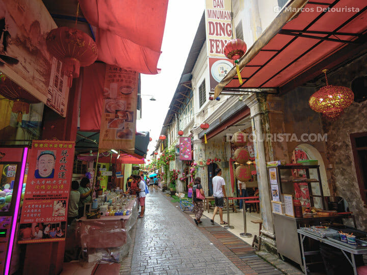Concubine Lane, in Ipoh, Malaysia