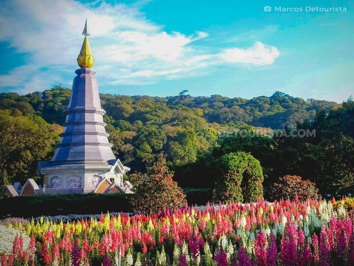 Doi Inthanon National Park near Chiang Mai, Thailand