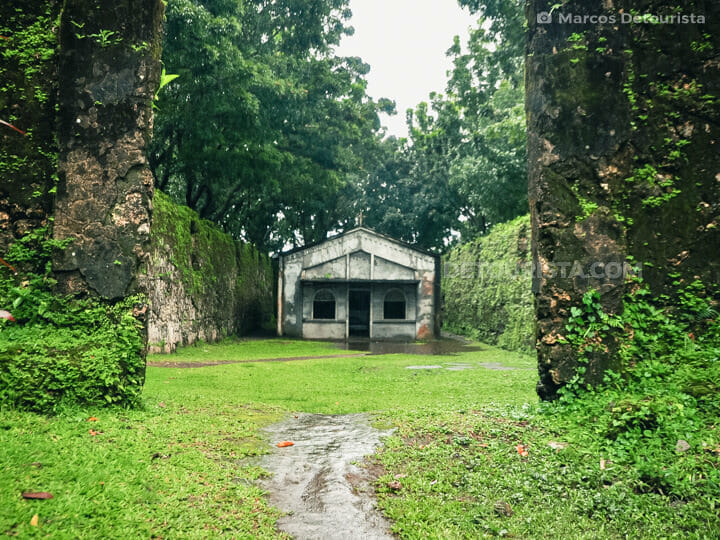 Guiob Old Spanish Church Ruins in Camiguin, Philippines