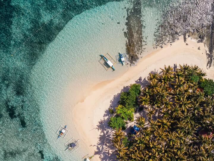 Guyam Island, in Siargao, Philippines
