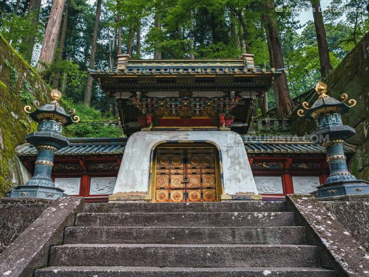 Iemitsu Mausoleum (Taiyuin) in Nikko, Japan