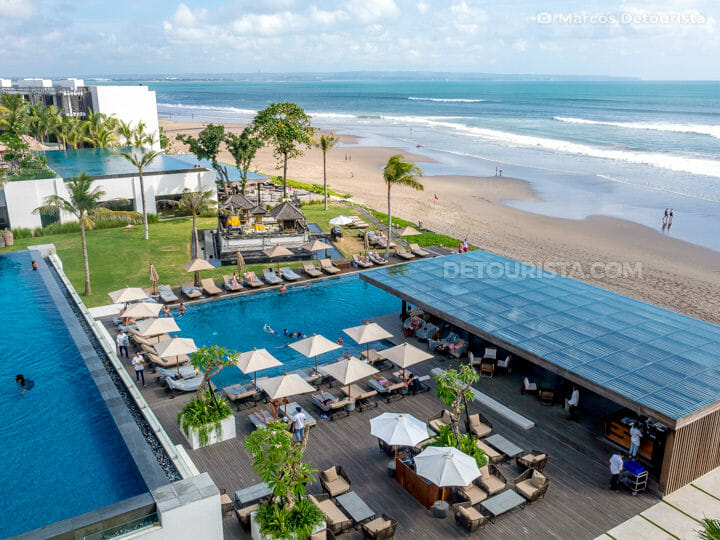 Infinity pools at Alila Seminyak