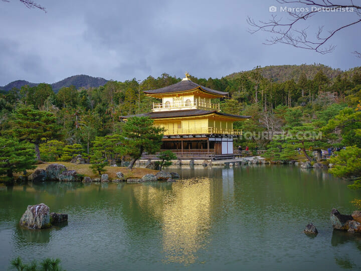 Kinkaku-ji (Golden Temple) in Kyoto, Japan