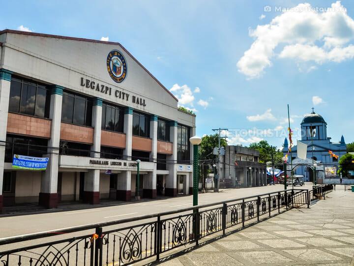 Legazpi City Hall in Legazpi City, Albay, Philippines