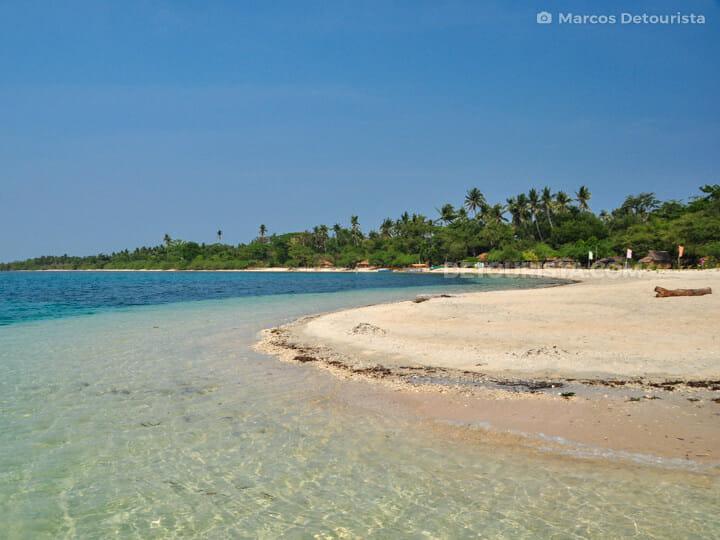 Magalawa Island, in Palauig, Zambales, Philippines
