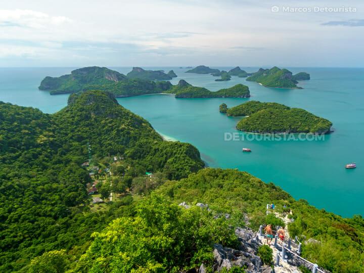 Pha Jun Jaras Natural Trail Viewpoint, Mu Ko Ang Thong National