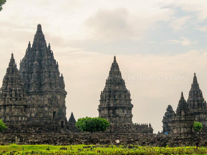 Prambanan Temple complex in Yogyakarta, Java, Indonesia