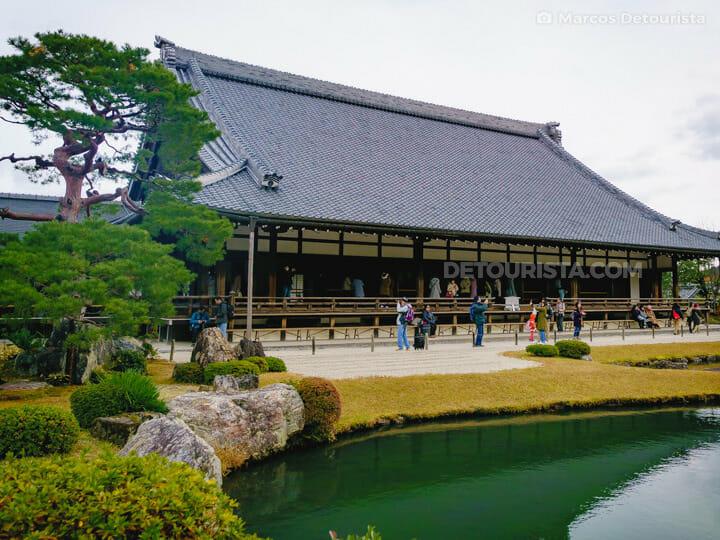 Tenryuji Temple in Arashiyama, Kyoto, Japan