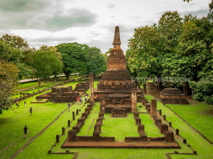 Wat Phra Kaew at Kamphaeng Phet Historical Park, in Kamphaeng Phet, Thailand