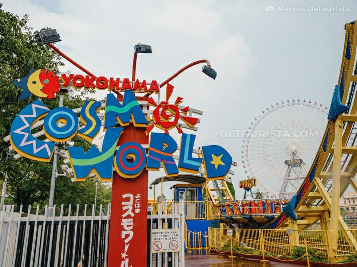 Yokohama Cosmoworld in Yokohama, Japan