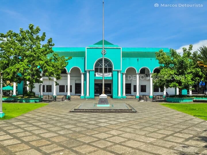 Albay Provincial Capitol in Legazpi City, Albay, Philippines