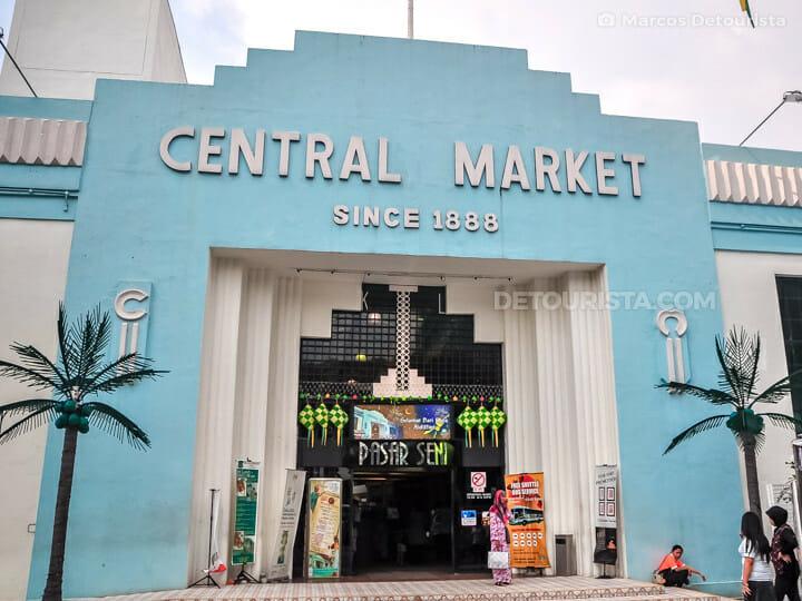 Central Market in Kuala Lumpur, Malaysia