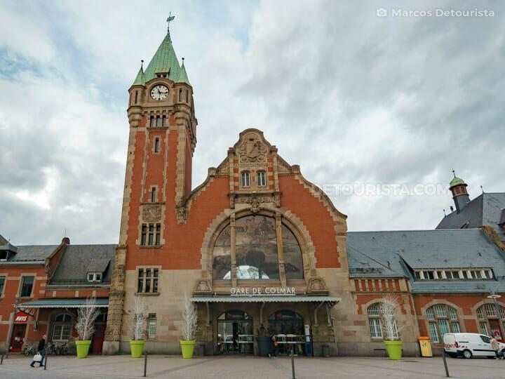Colmar train station, France