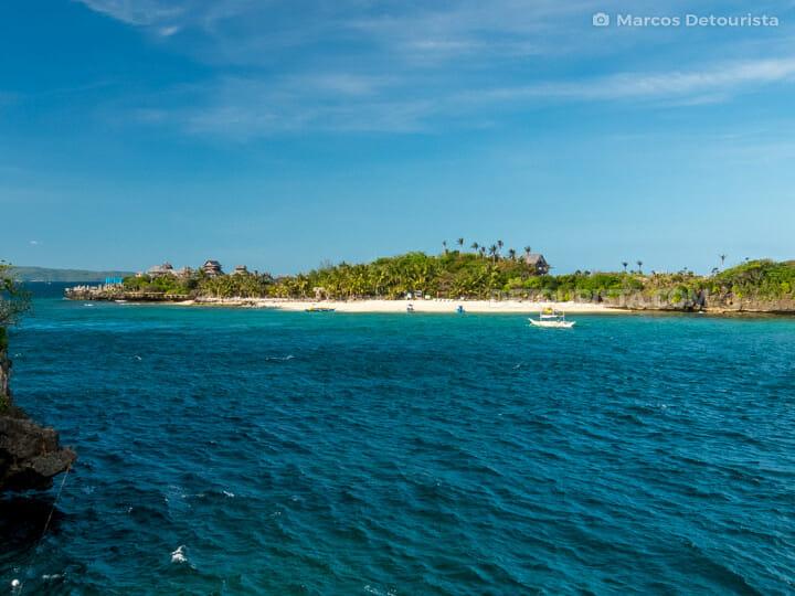 Crystal Cove Island near Boracay Island, Malay, Aklan, Philippines