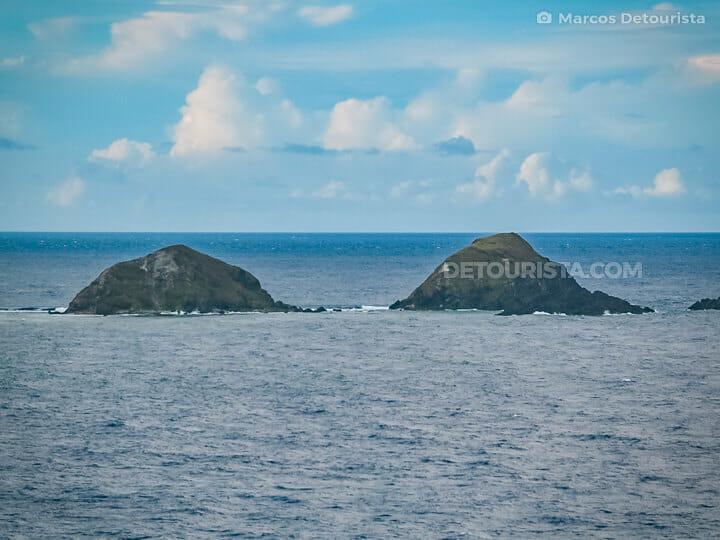 Dos Hermanos Island in Pagudpud, Ilocos Norte, Philippines