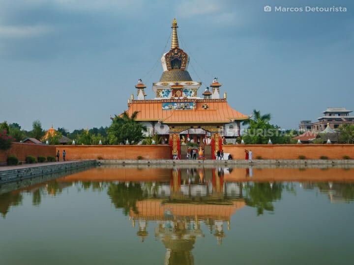 Drigung Kagyud Dharmaraja Foundation Buddhist Temple, Lumbini
