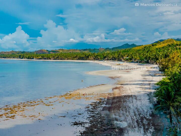 Jawili Beach in Tangalan, Aklan, Philippines