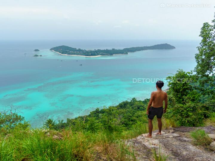 Koh Lipe view from Koh Adang