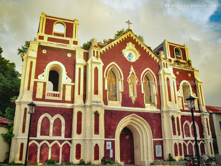 Nuestra Senora Dela Caridad Church in Vigan, Ilocos Sur, Philipp