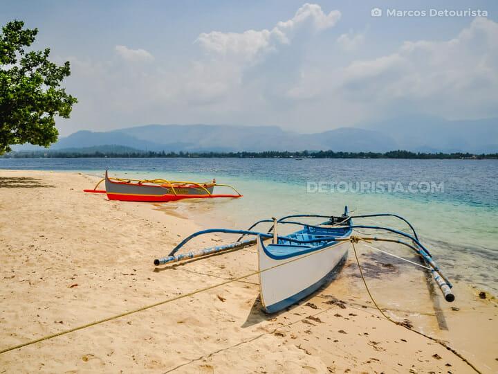 Potipot Island in Uacon, Candelaria, Zambales, Philippines